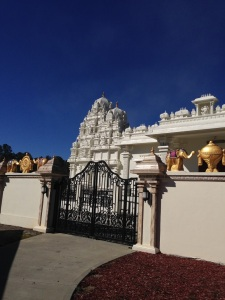 A Hindu temple just outside of Raleigh, NC